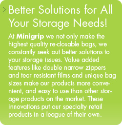 Better Solutions for Your Storage Needs!